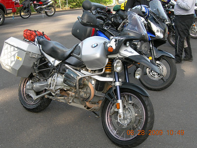 One of four 1150 GS Adventures.