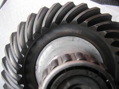 Pic shows the majic 2.82 gear ratio that you only get on the R1150GS Adventure.