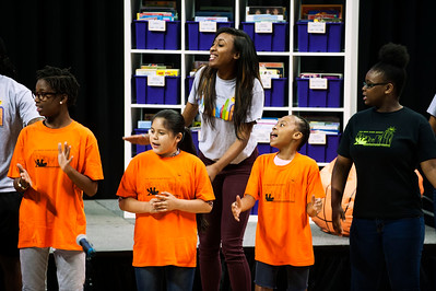 Charlotte Hornets 2016 Day of Service 6-20-16 by Jon Strayhorn