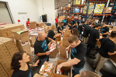 Charlotte Hornets Hurricane Florence Community Recovery & Relief  Effort with Second Harvest Foodbank & Foodlion 9-21-18 by Jon Strayhorn