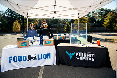 Charlotte Hornets 10th Annual Cornucopia Presented by Food Lion Feeds 11-24-2020 by Jon Strayhorn