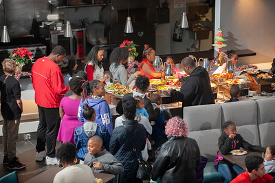 Hornets Adopt-A-Family Holiday Event @ Spectrum Arena 11-17-18 by Jon Strayhorn