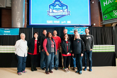 Hornets Host Seventh Annual Cornucopia Event Food Lion Feeds To Donate Thanksgiving Meal; Coca-Cola Consolidated To Provide Beverages @ Spectrum Arena 11-21-17 by Jon Strayhorn