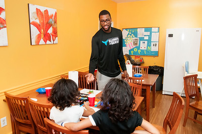 Hornets Season of Giving @ The Charlotte Family Housing 12-8-15