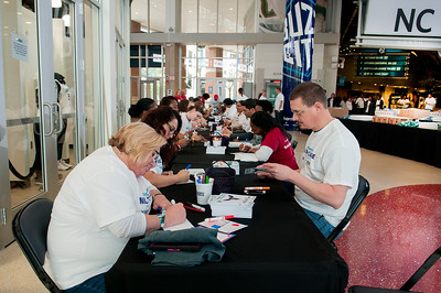 Military Care Day with The Charlotte Hornets @ The Spectrum Center 3-27-18 by Jon Strayhorn