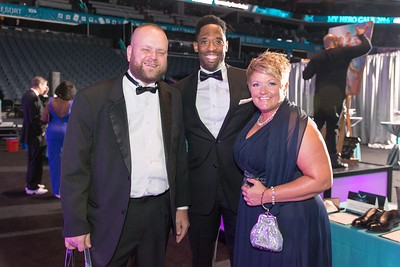 My Hero Gala 2016 Tux & Tennies Chariy Fundraiser @ The Spectrum Center 10-22-16 by Glyn Stanley
