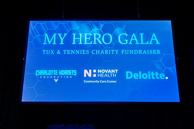 My Hero Gala 2016 Tux & Tennies Chariy Fundraiser @ The Spectrum Center 10-22-16 by Jon Strayhorn