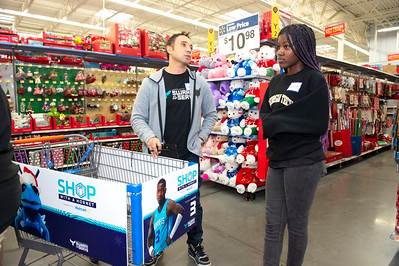 Shop With A Hornet @ Walmart Independence 12-9-19 by Jon Strayhorn