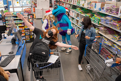 Shop With Hornets For Boys & Girls Club @ Walmart 12-15-2020 by Jon Strayhorn