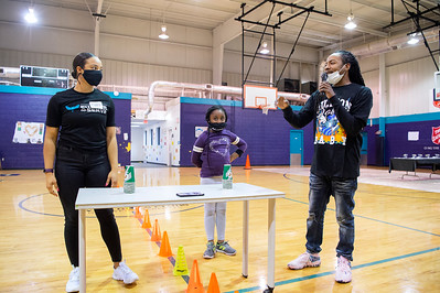 Shop With The Hornets Pt1 Holiday Arts & Crafts @ Belmont Ave Boys & Girls Club 12-10-2020 by Jon Strayhorn