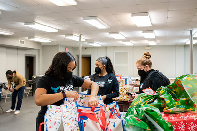 Shop with a Hornet - Day 3 Surprise Gift Delivery @ Boys & Girls Club Belmont 12-17-2020 by Jon Strayhorn