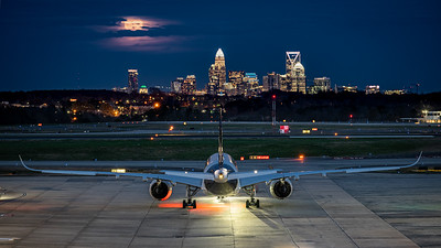 Super Moon Over Charlotte