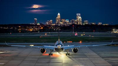 Super Moon Over Charlotte