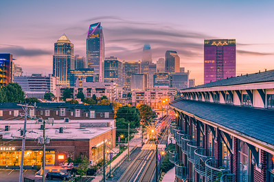 Sunrise in the Queen City