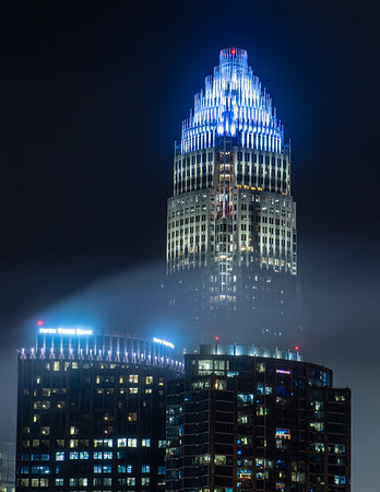 Bank of America Tower Above the Clouds
