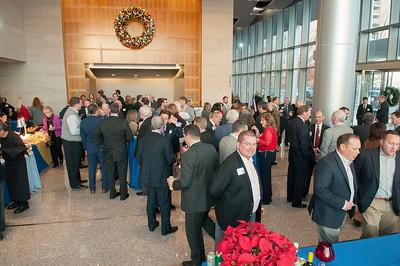 Charlotte Regional Partnership Annual Christmas Party @ NASCAR Plaza 12-7-16 by Jon Strayhorn