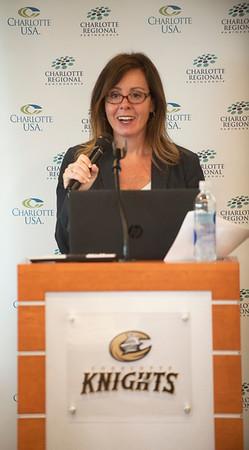 Charlotte Regional Partnership 2017 Board of Directors Meeting  & BB&T Ballpark 5-2-17 by Jon Strayhorn