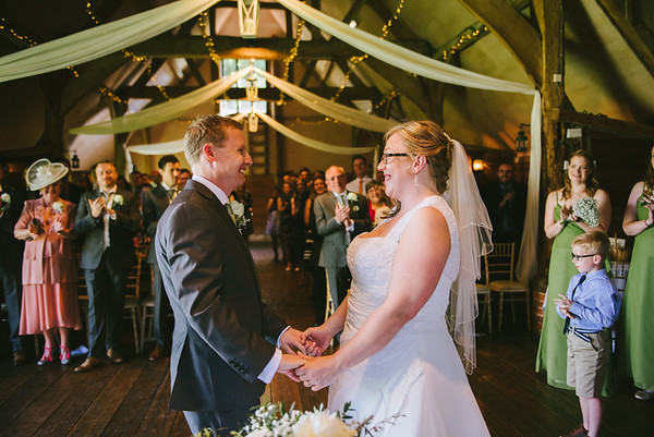 Charlotte and Dean - wedding