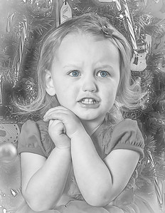 Charlotte and Lexi's Christmas pictures 2016-113