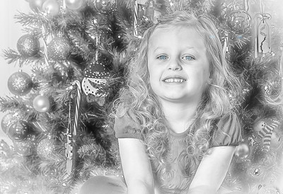 Charlotte and Lexi's Christmas pictures 2016-106