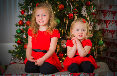 Charlotte and Lexi's Christmas pictures 2016-109