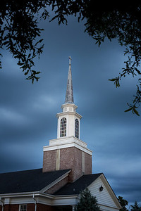 29/52 Yep, another church picture this week. I had planned to photograph this church at sunset, but a storm rolled in and provided some really nice cloud cover. I had hoped to capture some of the lightning, but wasn't able to. I didn't get to make too many photos before the rain began, so I'll have to revisit this church on another day.