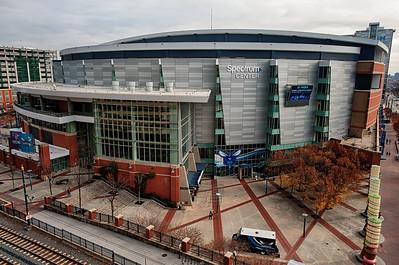 Spectrum Center Home of the Charlotte Hornets by Jon Strayhorn