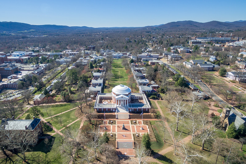 UVA Rotunda to Mountains
