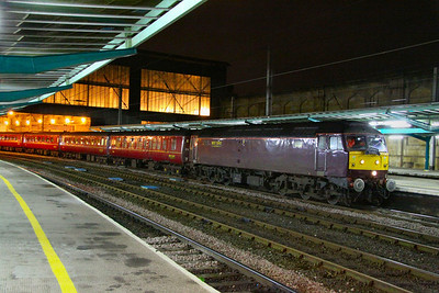 47851 calls at Carlisle on the: 1Z69 18:51 Edinburgh to Hereford 23/11/11  Watch the video at: http://youtu.be/WeZM4wSXY3A