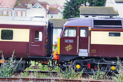 47790 with DRS Compass logo on the cab. 26/08/11