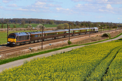 67006 heads north through Colton Junction on the rear of the Royal Train  05/04/12  Watch the video at: http://youtu.be/agahOt9Q6o4