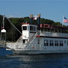 The Duchess of Lake Geneva is great for cocktail, dinner cruises, weddings, as well as a creative meeting space.  The lower deck is fully enclosed with air conditioning and heating and also includes a full mahogany bar.