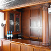 Full Mahogany bar aboard the Duchess.