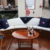 Comfortable open aft deck of the Lorelei.