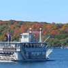 Beautiful fall colors in October.  Boats are heated and enclosed to take the worry out of any weather.