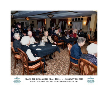 Black Tie Gala with Dean Hollin at Chartwell Georgian Traditions 2