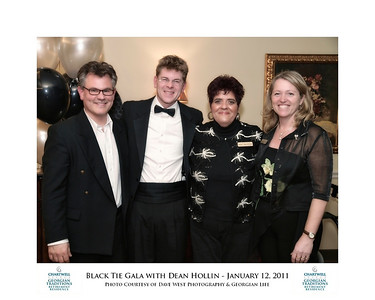 Black Tie Gala with Dean Hollin at Chartwell Georgian Traditions 38