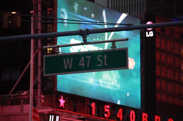 Times Square Light Study