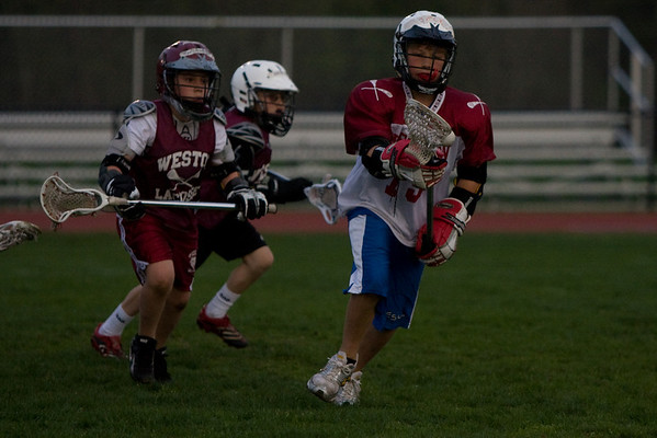 Weston Lacrosse Night U11 Half Time Game