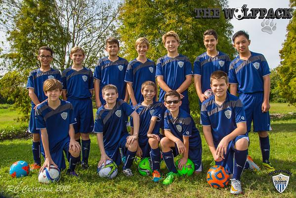 The WolfPack U14 Soccer