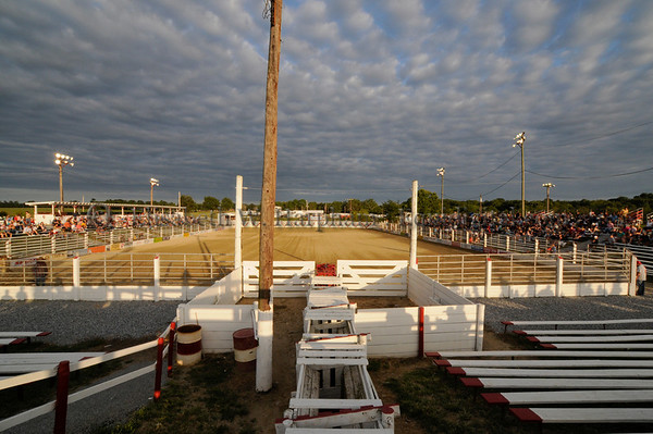 Every summer Saturday night at 7:30, the rodeo comes to town at the oldest weekly rodeo event in this country, Cowtown in Woodstown, New Jersey.