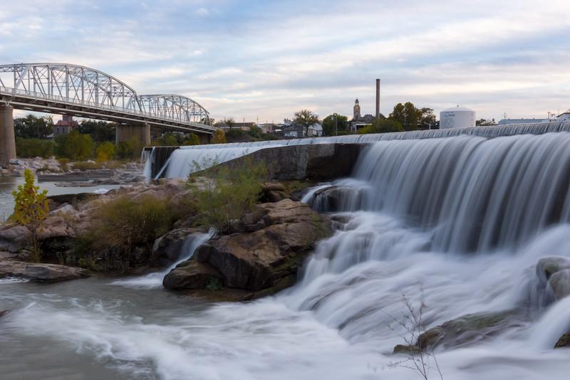 Llano river falls