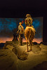 Life size sculpture in he Buffalo Bill Museum