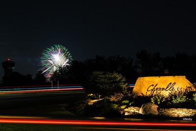 Chaska, Grand Chevalle, Fireworks