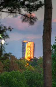 Sunset on the Sovereign Buckhead