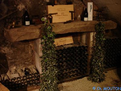 Cave des dames Chenonceau 53 C-Mouton