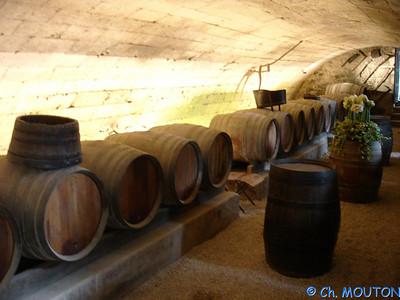 Cave des dames Chenonceau 50 C-Mouton