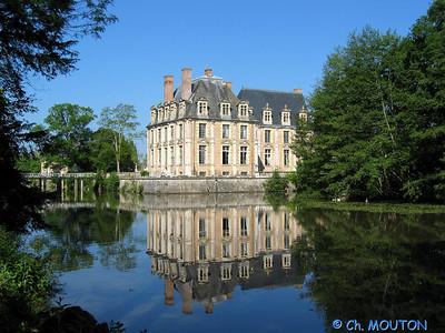 Le Ferte St Aubin Chateau 15 C-Mouton