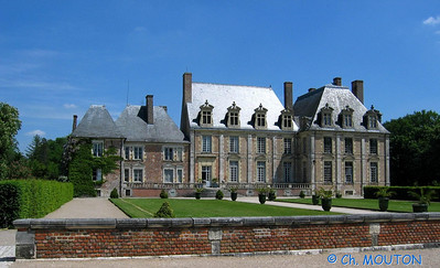 Le Ferte St Aubin Chateau 23 C-Mouton