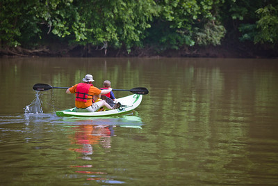 Kayaking at Chattahoochee Bend State Park